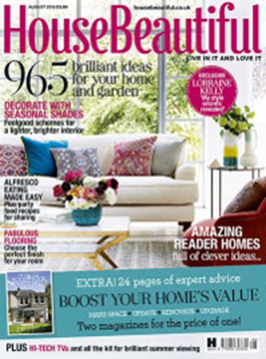 House Beautiful August 2 0 1 6